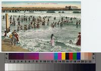 """In the Surf, Long Beach, California"" ca. 1906"