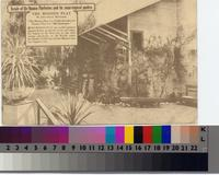"""The Mission Play - Facade of the Mission Playhouse, and its semi-tropical garden""..."