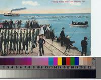"""Fishing Scene near Los Angeles, Cal."""