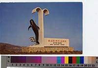 """Entrance Sign Marineland of the Pacific, Southern California"""