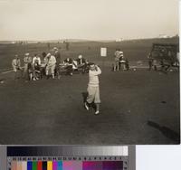 Abe Espinosa at the Palos Verdes Open Golf Tournament, Palos Verdes Golf Club....