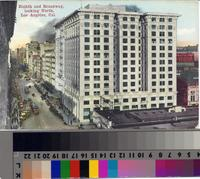"""""""Eighth and Broadway, looking North, Los Angeles, Cal."""""""