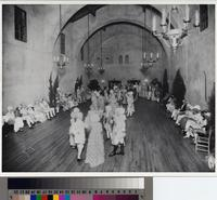 """The Minuet"" at the Colonial Ball, Malaga Cove School Auditorium, Palos Verdes..."