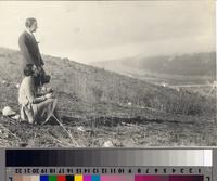 """Mme .Amelita Galli-Curci and Her Husband, Mr. Samuels"", Palos Verdes Estates...."