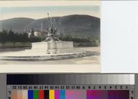 Neptune Statue, Malaga Cove Plaza, Palos Verdes Estates, California