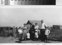 """Phillips family members with friends at """"new"""" ranch headquarters."""