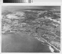 Aerial view of Portuguese Bend, Rancho Palos Verdes.