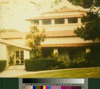 Malaga Cove Library entrance, Palos Verdes Estates, California