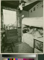 """Room in the girls dorm (Prima Domus), Constance Thornburgh, Year 1948-1949""..."
