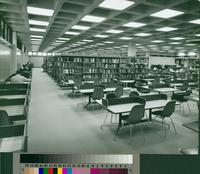 Library Interior, Peninsula  Center Library