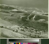 Aerial view of the Palos Verdes College campus