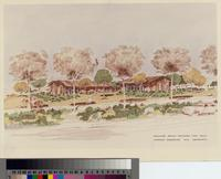 Rolling Hills Estates City Hall architectural rendering