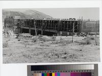 Peninsula Center Library construction site, Rolling Hills Estates