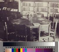 Malaga Cove Library interior, Palos Verdes Estates, California