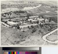 Aerial view of Marymount College, Rancho Palos Verdes, California