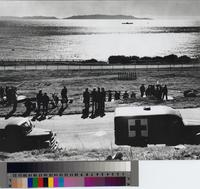 Gunnery exercise, San Pedro, California