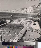 Palos Verdes Bathhouse and Beach Club pool and shoreline