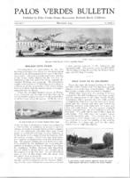Palos Verdes Bulletin, December 1924. Volume 1. Number 2