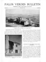 Palos Verdes Bulletin, August 1925. Volume 1. Number 9