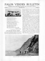Palos Verdes Bulletin, December 1925. Volume 1. Number 13