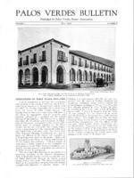 Palos Verdes Bulletin, July 1925. Volume 1. Number 8