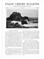 Palos Verdes Bulletin, May 1925. Volume 1. Number 6