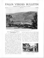 Palos Verdes Bulletin, June 1925. Volume 1. Number 7