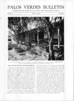 Palos Verdes Bulletin, March 1926. Volume 2. Number 3