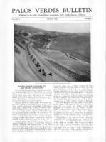 Palos Verdes Bulletin, August 1926. Volume 2. Number 8