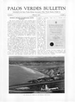 Palos Verdes Bulletin, March 1927. Volume 3. Number 3