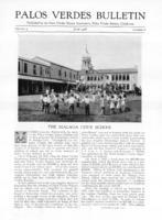 Palos Verdes Bulletin, June 1928. Volume 4. Number 6