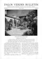 Palos Verdes Bulletin, August 1928. Volume 4. Number 8