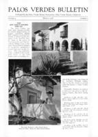 Palos Verdes Bulletin, March 1928. Volume 4. Number 3