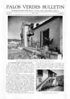 Palos Verdes Bulletin, May 1928. Volume 4. Number 5