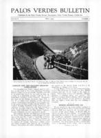 Palos Verdes Bulletin, May 1930. Volume 6. Number 5