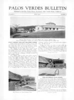 Palos Verdes Bulletin, June 1930. Volume 6. Number 6
