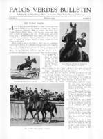 Palos Verdes Bulletin, March 1931. Volume 7. Number 3