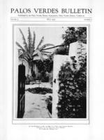 Palos Verdes Bulletin, May 1931. Volume 7. Number 5