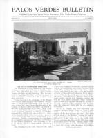 Palos Verdes Bulletin, June 1931. Volume 7. Number 6