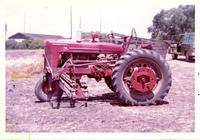 Tractor at the Wallace Radio Ranch