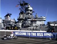 Battleship Iowa in 2015