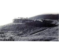 Pedersen home on Portuguese Bend Road under construction