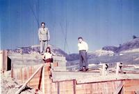 Pedersen home under construction