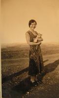 My mother Josephine Sachiko Ashimoto on her engagement day