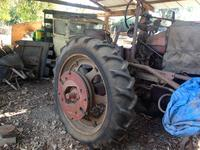 My father's tractor and flatbed