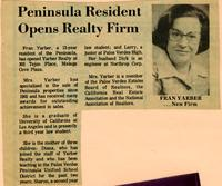 Diana Yarber Innis collection of Yarber Realty clippings