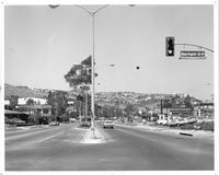 Intersection of Beechgate Drive and Silver Spur Road, Rolling Hills Estates,...