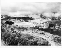 Bird's-eye view of partially developed land along Silver Spur Road, Rolling...