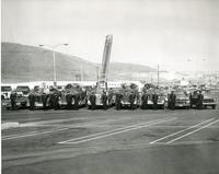 Los Angeles County Fire Department fire engines