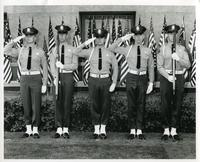 Group of five Los Angeles County Sheriff officers